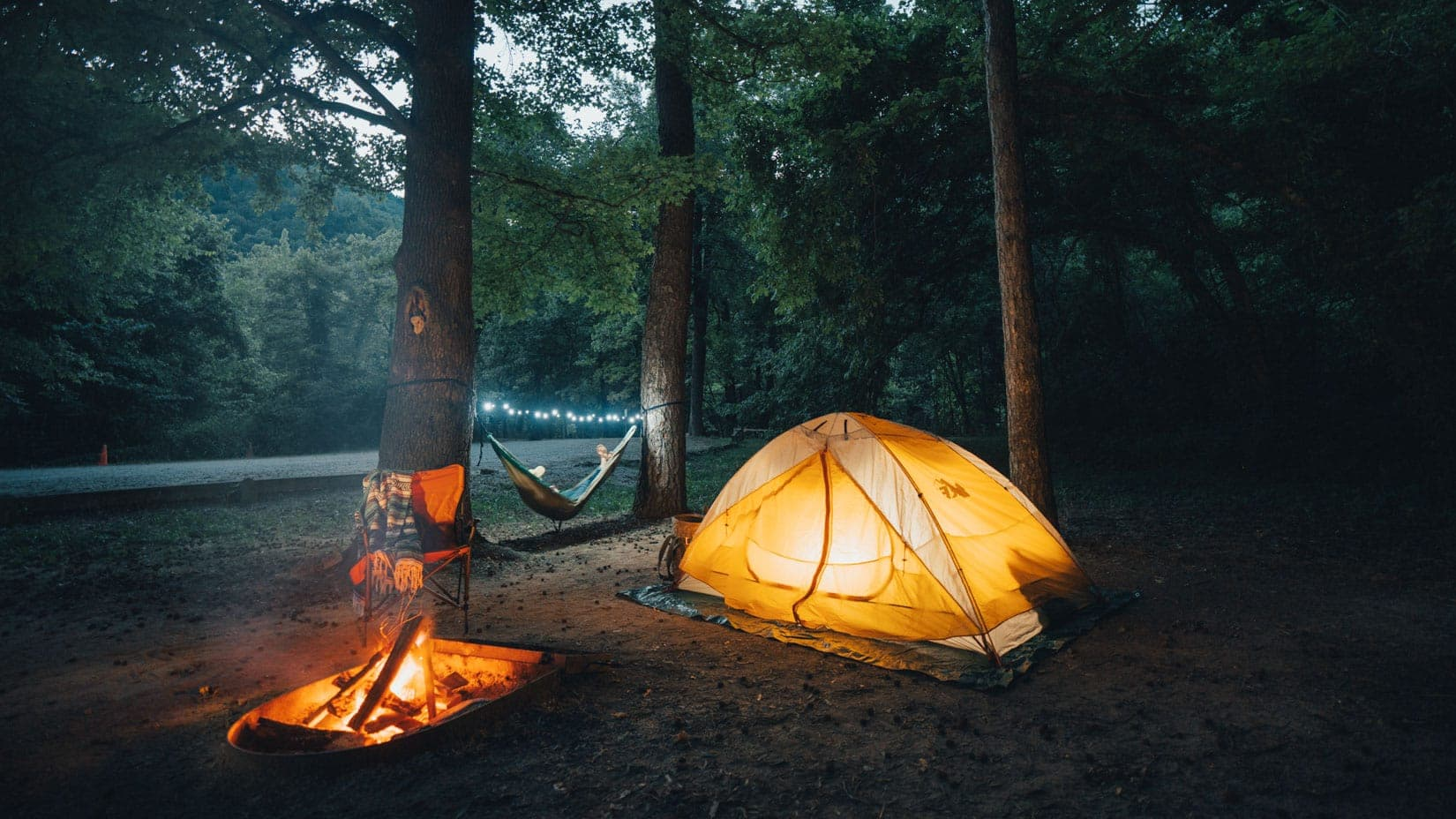 Camping at Kyles Landing