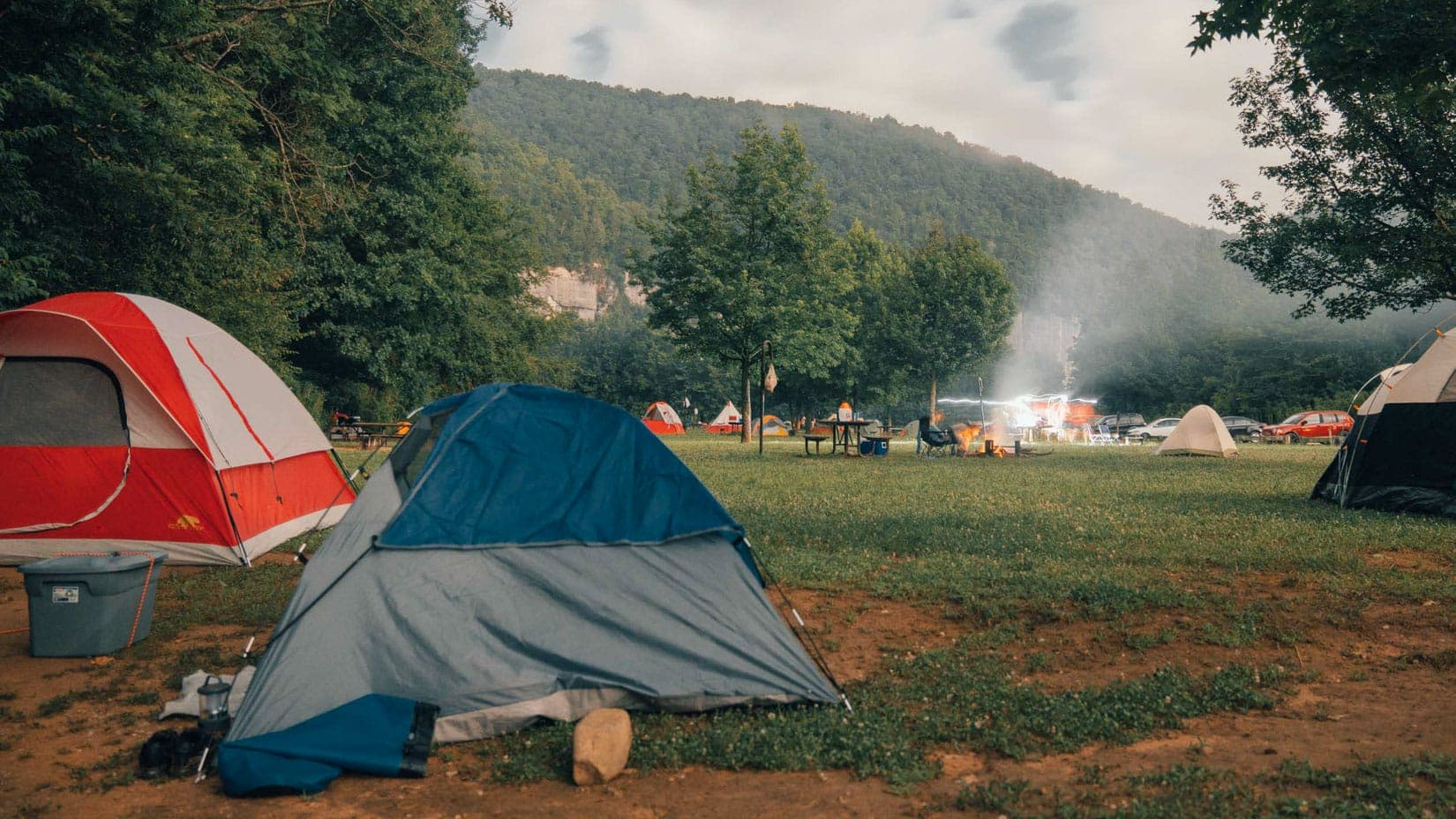camping at steel creek